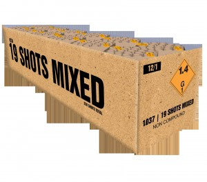 Mixed 19 shots